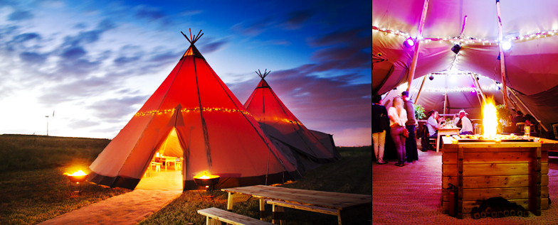 Totally Tipi - Pop up Restaurant