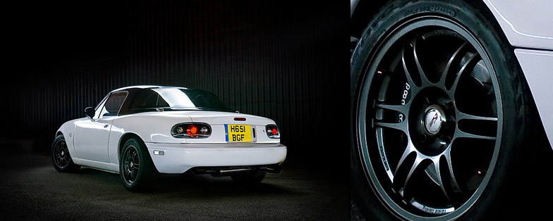 Automotive-mx5-mk1-lightpaint-rear-detail