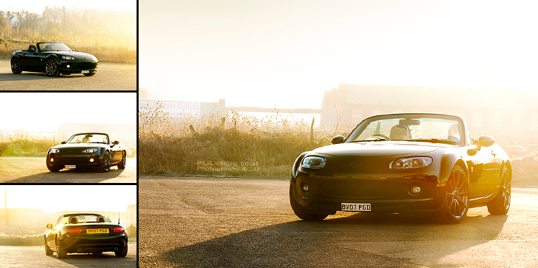 Automotive-MX5-sunflare