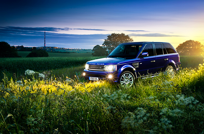 Automotive-Range-rover-sport-photography
