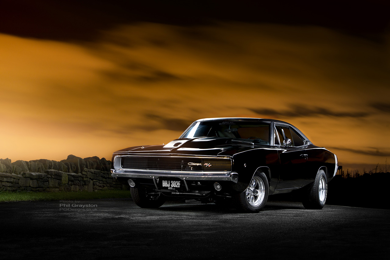 automotive-Dodge charger front