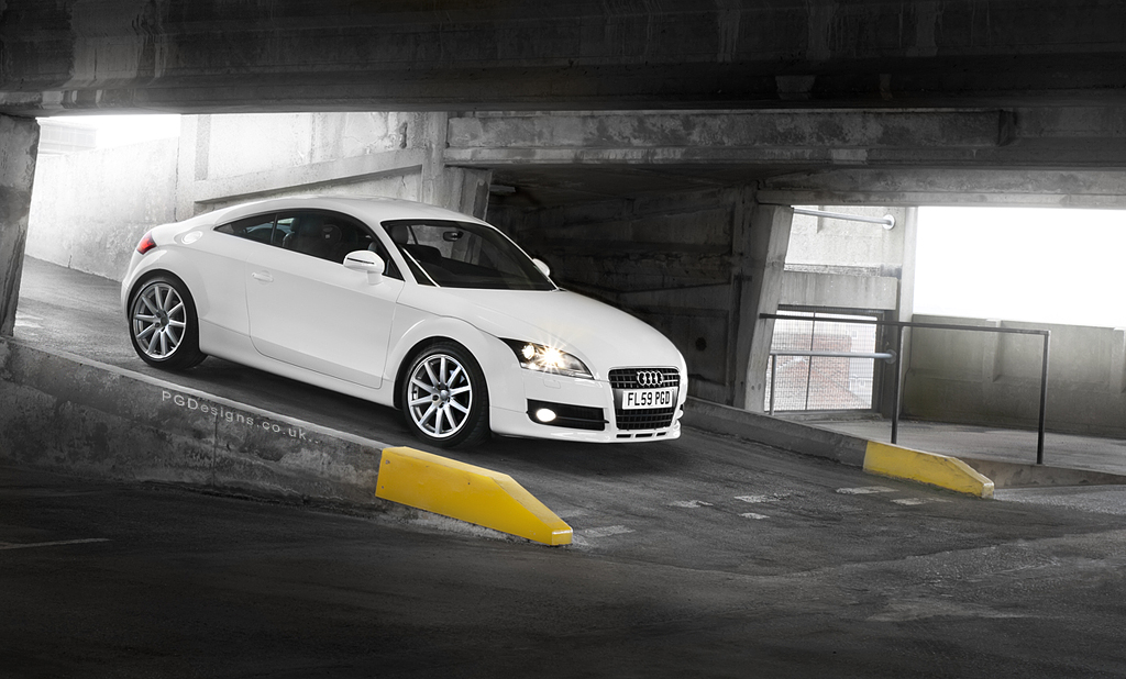 Audi TT ramp explored photography