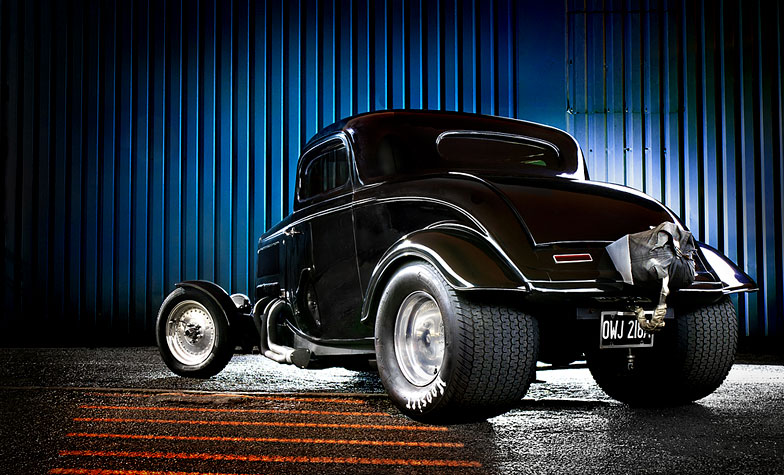 Automotive-hotrod-pro-street-rear
